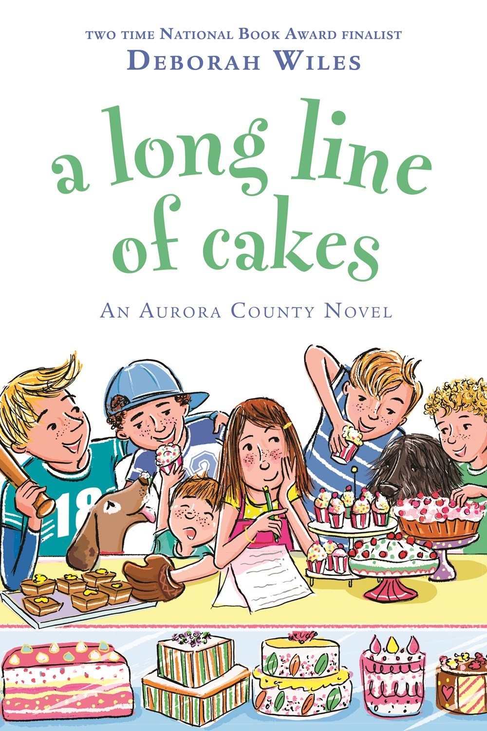 Long Line of Cakes cover